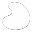 Italian Solid Sterling Silver Snake Chain