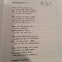 "Audioboo / For AJ - (Elizabeth Bishop) ""Chemin de Fer"" Poem No 9/1,080"