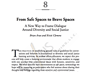 Brave Space to Safe Space: A New Way to Frame Dialogue around Diversity and Social Justice