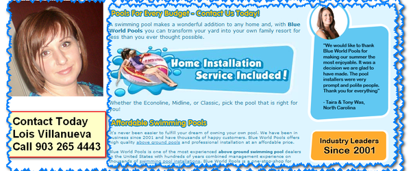 Headline for Top Online Above Ground Pools Tyler Tx