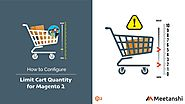 Magento 2 Limit Cart Quantity by Meetanshi