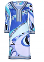 Emilio Pucci Printed Stretch-crepe Dress