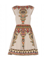 Valentino Intarsia Stretch-knit Dress