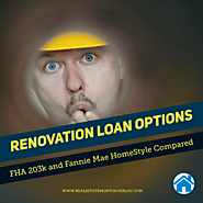 Mortgage Renovation Options: 203k and HomeStyle Compared – Conclud