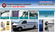 Tampa-Emergency-Locksmith | 813-347-9451 | 866-408-2688 | Welcome!
