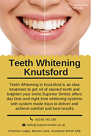 Teeth Whitening Knutsford