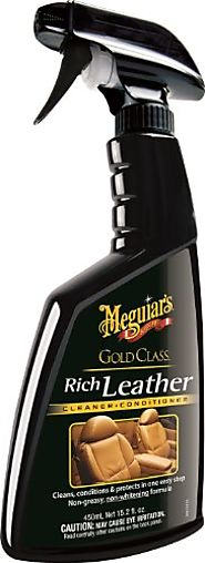 Meguiar's G10916 Gold Class Rich Leather Cleaner & Conditioner - 15.2 oz.