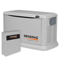Generac 20,000 Watt Air-Cooled Liquid Propane/Natural Gas Powered Standby Generator, Aluminum Enclosure (CARB Compliant)