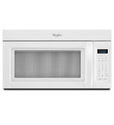 Whirlpool WMH31017AW 1.7 Cu. Ft. White Over-the-Range Microwave