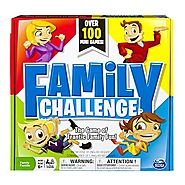 Spin Master Games - Beat The Parents Family Challenge Board Game