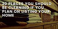 Real Estate News From Experts - 20 Places You Should Be Cleaning When You List Your Home