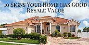 10 Signs Your Home has Good Resale Value | Parkland Power Team