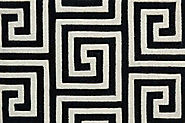 Custom Rugs Machine Made Mediterranean Labyrinth Labyr Nyx-B | Oriental Designer Rugs
