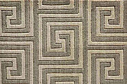 Custom Rugs Machine Made Mediterranean Labyrinth Labyr Kafe-B | Oriental Designer Rugs