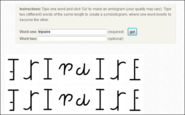 Online Ambigram Generator and Maker