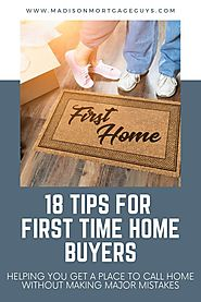 Important Tips Time Home Buyers - madisonmortgage | ello