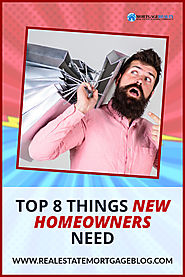 Top 8 Important Things New Homeowner Need