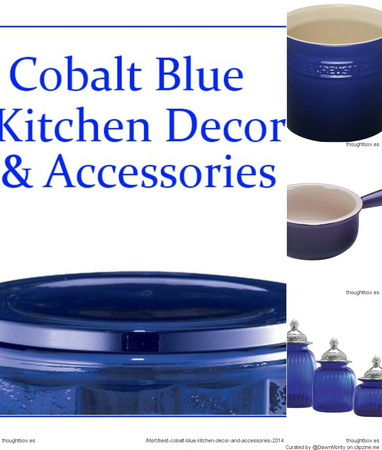 Best Cobalt Blue Kitchen Accessories and Decor Items for ...
