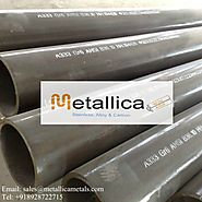 Top ASTM A333 Gr 6 Seamless/Welded Carbon, Alloy Steel Pipes Dealer