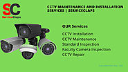 CCTV Maintenance and Installation Services | Serviceclaps