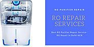 Best RO Purifier Repair Service- RO Repair in Delhi NCR