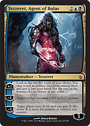 Tezzeret, Agent of Bolas - Mirrodin Besieged