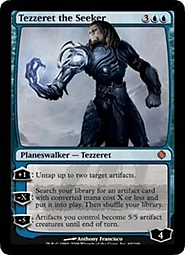Tezzeret the Seeker - Shards of Alara
