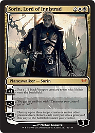 Sorin, Lord of Innistrad (142) - Dark Ascension