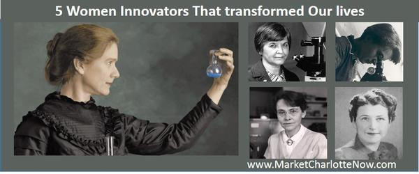Headline for Famous Women Innovators That Transformed Our Lives