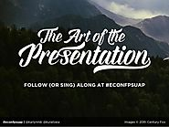 The Art of the Presentation