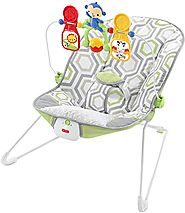 Fisher-Price Baby's Bouncer, Geo Meadow, One size