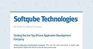 Finding Out the Top iPhone Application Development Company
