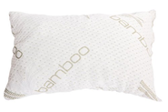 Shredded Memory Foam Pillow with Bamboo Cover - Made In The USA - Hotel Collection - Stays Cool - Hypoallergenic and ...