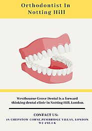 Orthodontist Notting Hill