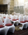 Verner Panton Church Chairs