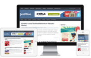 JustBlue – Responsive WordPress Theme