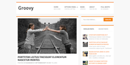 Groovy - WordPress Blog Theme