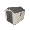 Lifetime 6405 8-by-10-Foot Outdoor Storage Shed with Window, Skylights, and Shelving