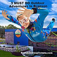 3 New Must Do Outdoor Branson Fun, Skydiving, Spinning Coaster Video,
