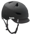 Bern Brentwood Summer Matte Helmet with Visor, Matte Black, X-Large