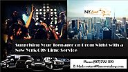 New York Limo Service: Surprising Your Teenager on Prom Night with a New York City Limo Service