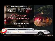 NYC Limo Rental for Christmas