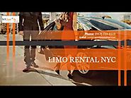 3 Must See Stops on Your NYC Limo Rental