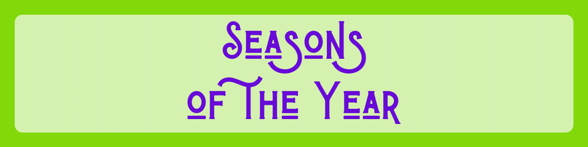 Headline for Seasons of the Year Quotes eCards