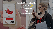 E-Commerce Mobile App Development Cost- Things You Need to Know