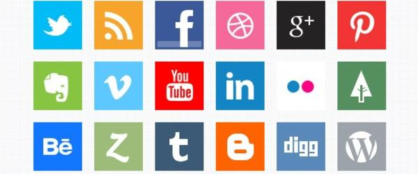 Headline for Social Media Icon Generators and Resources