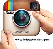 How to Find People on Instagram - Instagram Search People