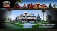 The world famous Winchester Mystery House in San Jose