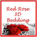 Best Red Rose Print Bedding Sets | 3D Bedding and Comforter Sets