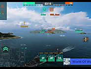World of warships blitz #2 Podvoisky - Silent Shoal - Tier 5 USSR battleships - Blue Cannon